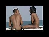 Flagra real de mulheres peladonas na praia