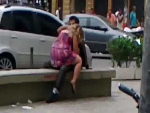 Sexo na rua no Rio de Janeiro